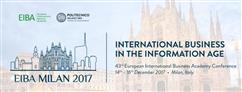 Eiba 2017: International Business in the Information Age